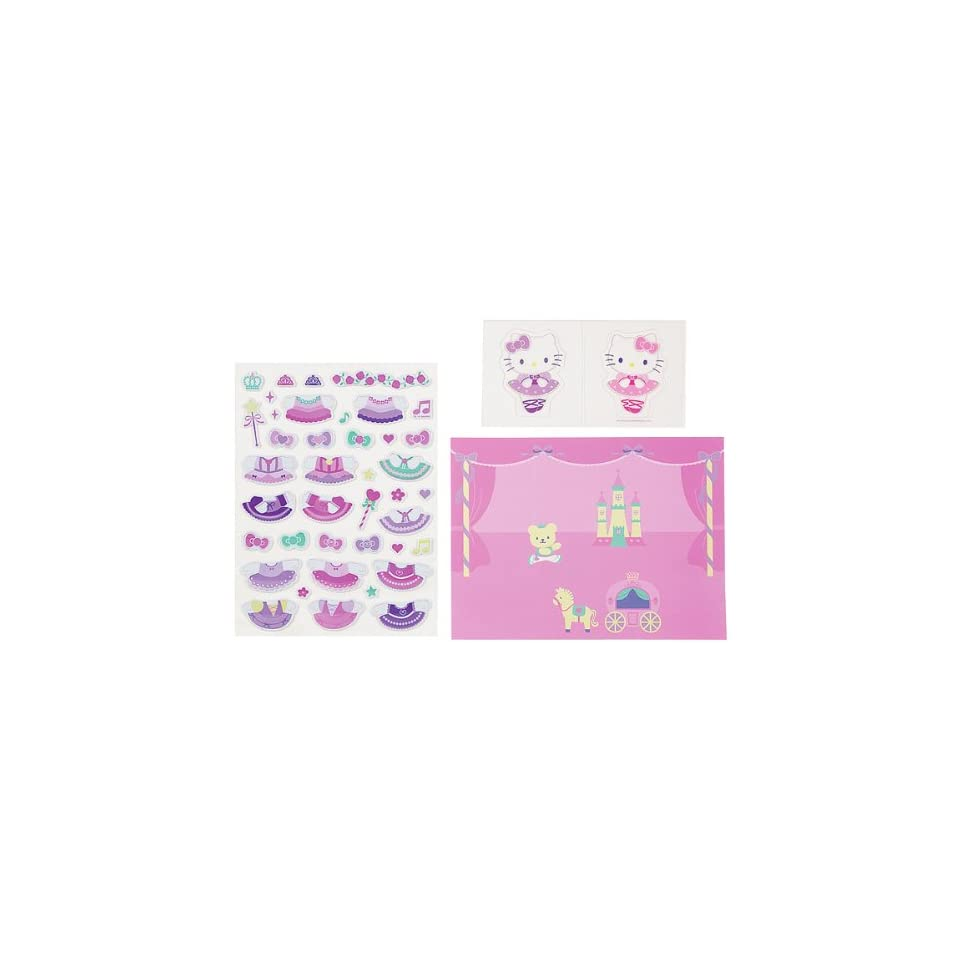 Japanese Sanrio Hello Kitty Dress up Stickers Kit Toys & Games