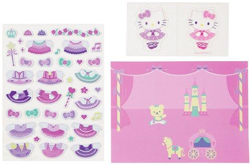 Japanese Sanrio Hello Kitty: Dress-up Stickers Kit