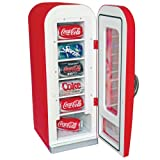 Koolatron CVF18 Retro Coca-Cola 10-Can-Capacity Vending Fridge