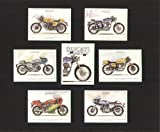 Ducati Classic Motor Cycle - 450 Desmo, 750 Sport, 350 Desmo, 750SS, 900SS, and 900 MHR - Collectors Cards