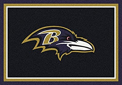 Milliken Baltimore Ravens NFL Team Spirit Area Rug