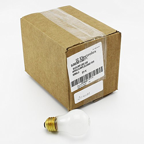 Frigidaire 40W Appliance Bulb 5303013071 (Electrolux Oven Parts compare prices)