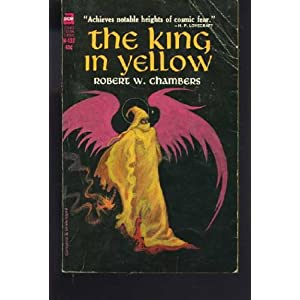 The King In Yellow 1965 Ace Books Cover