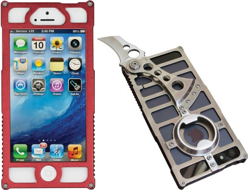 Mantis Knives AP1 Red iPhone 5 Case, Red