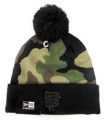 New Era San Francisco Giants Beanie woodcamo hat one size