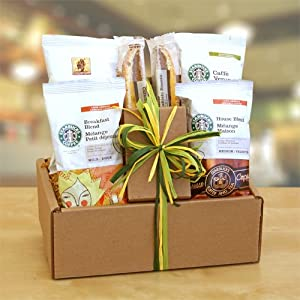 Verona, Sumatra and Biscotti | Great Gift Set for the Coffee Lover