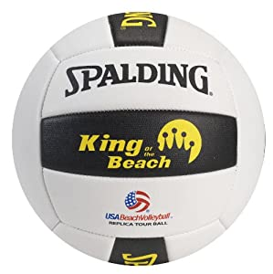 Buy Spalding King of the Beach USA Beach Replica Tour Volleyball by Spalding