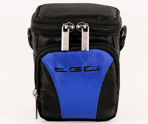 the-tgc-r-dreamy-blue-black-deluxe-compact-shoulder-carry-case-bag-for-the-sanyo-vpc-gh2-camcorder