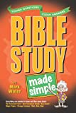 Bible Study Made Simple (Made Simple Series) (0899574289) by Water, Mark