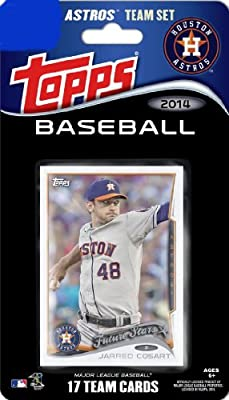 2014 Topps Baseball Limited Edition Team Set: Houston Astros (17 Cards) - Includes Special Stadium Card !