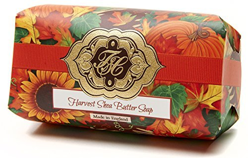harvest-w-golden-fall-leaves-luxury-large-oversized-beautifully-scented-shea-butter-soap-bar-made-in