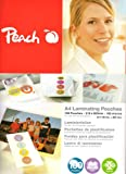 Peach 200 Micron Laminating Pouches