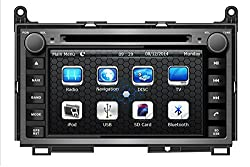 See Car Dvd Player for Toyota Venza 2009 2010 2011 2012 Support 3g,1080p,iphone 6s/5s,external Mic,usb/sd/gps/fm/am Radio 7 Inch Hd Touch Screen Stereo Navigation System+ Reverse Car Rear Camara + Free Map Details