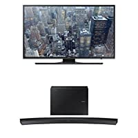 Samsung UN40JU6500 40-Inch TV with HW-J6500 Curved Soundbar by Samsung
