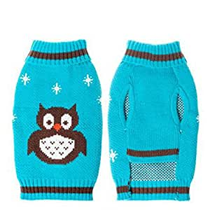 Turtleneck sweaters clothes for dogs wise owl for Owl fish clothing