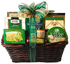Winecom Elegant Extravaganza Gift Basket from Wine.com