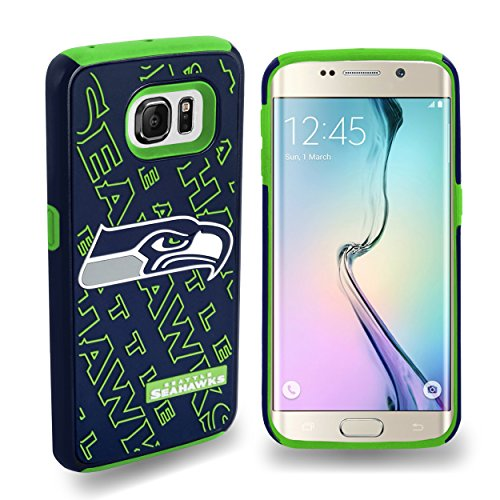 Forever-Collectibles-Licensed-NFL-Cell-Phone-Case-for-Samsung-Galaxy-S6-Edge-Retail-Packaging-Seattle-Seahawks