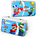 SUPER MARIO BROS Protective HARD CASE COVER For Nintendo 3DS XL Console In Retail Packaging. 1st Class UK Post