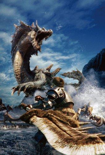 1000ピース モンスターハンター3 海竜ラギアクルスに挑め! 31-350
