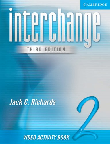 Interchange Video Activity Book 2 (New Interchange Video Activity Book)