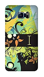 SWAG my CASE PRINTED BACK COVER FOR SAMSUNG GALAXY S6 EDGE Multicolor