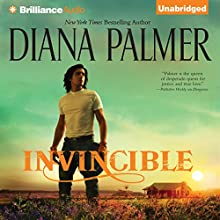 Invincible: Long, Tall Texans (       UNABRIDGED) by Diana Palmer Narrated by Todd McLaren