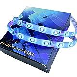 ぶーぶーマテリアル LEDテープ 切り売り 白基盤 50cm ブルー 青 防水等級IP65 (LEDの数30球) L3