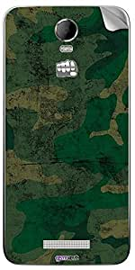 GsmKart MCJ2 Mobile Skin for Micromax Canvas Juice 2 (Green, Canvas Juice 2-395)