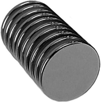 10 Neodymium Magnets 3/4 x 1/16 inch Disc N48