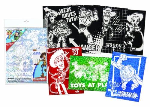 Toy Story 3 Fuzzy Foil Fun Set (11195A)