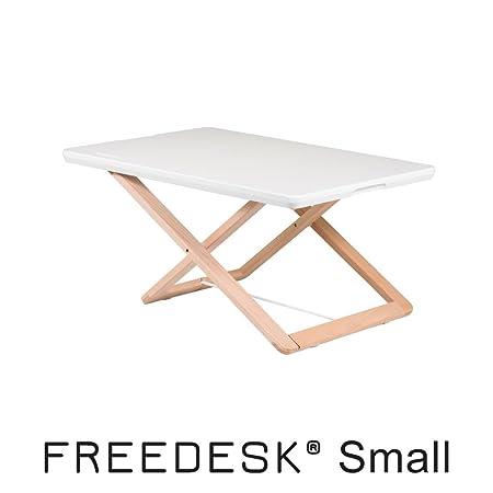 Freedesk–Portable debout Desk–Hauteur réglable de assis au debout. Simple Design suédois. enfants., blanc, 39x58