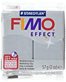 Staedtler Fimo Effect Polymer Clay, 2-Ounce, Metallic Silver