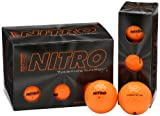 Nitro Maximum Distance Golf Ball (12-Pack), Orange