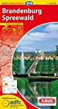 ADFC-Radtourenkarte 9 Brandenburg Spreewald 1:150.000, reiß- und wetterfest, GPS-Tracks Download und Online-Begleitheft