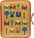 Peter Pauper Press,NeoSkin iPad Zip Sleeve, Owls (fits iPad )