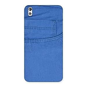 Ajay Enterprises Blue Jeans Back Case Cover for HTC Desire 816s