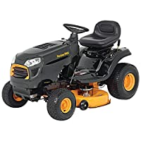 "Poulan Pro 960420182 Briggs 15.5 hp Automatic Hydrostatic Transmission Drive Riding Mower, 42"" 46000 Outdoor Power Issue - Over LTL Weight Max by Poulan Pro"