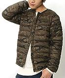 (リピード) REPIDO 高密度ナイロンダウンタッチ中綿インナージャケット カーキ(迷彩) XLサイズ