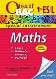 Objectif Bac - Entraînement - Maths 1ère ES