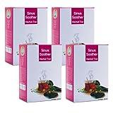 9T9 Herbal Tea Sinus Soother 400 Gms (4 Packs, 100 Gms Per Pack)