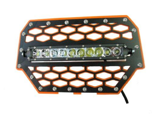 "Tigerlights Tlrzr1000Owl - Polaris Rzr 1000 Grille With 10"" Led Light Bar"