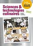Sciences et technologies culinaires s...