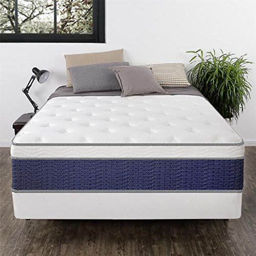Night Therapy Mattress: Night Therapy 14-Inch Euro Box Top Spring ICoil Mattress