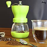 Amazy-manuelle-Kaffeemhle-mit-Keramikmahlwerk-Fr-feinsten-frischgemahlenen-Kaffee-Braun
