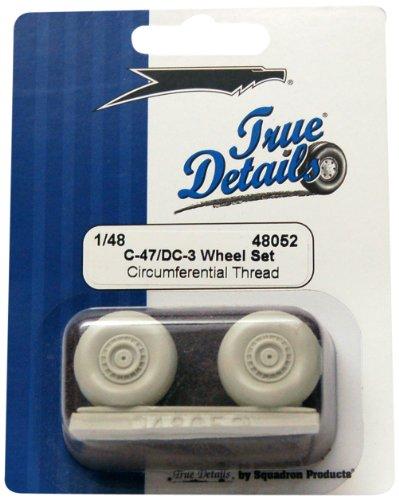 True Details TD48052 C-47/DC-3 Wheels