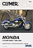 img - for CLYMER HONDA VTX1800 SERIES 2002-2008 *MAINTENANCE *TROUBLESHOOTING *REPAIR book / textbook / text book