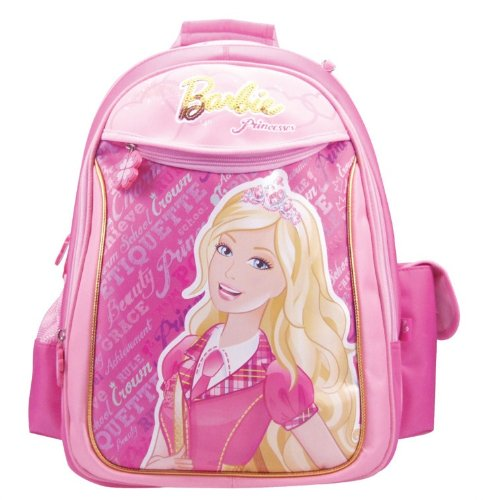 Hot Barbie Barbie bag Children Kids Backpack Pink A271057 (Pink) (japan import)