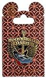 Disney Pin - Gold Rock N Roller Coaster Logo
