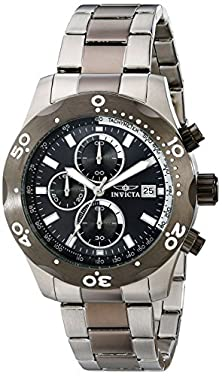 buy Invicta Men'S 18018 Specialty Analog Display Japanese Quartz Two Tone Watch