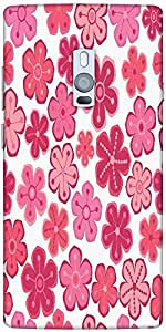 Snoogg Seamless Floral Pattern Flowers Texture Daisy Solid Snap On - Back Cov...